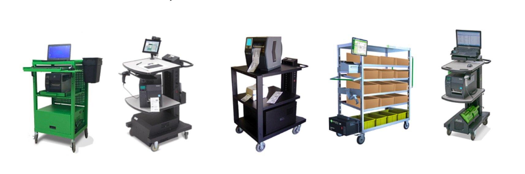 new castle carts | great for warehouses and libraries